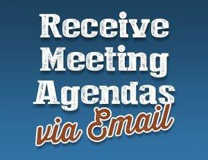 Emailed Agendas