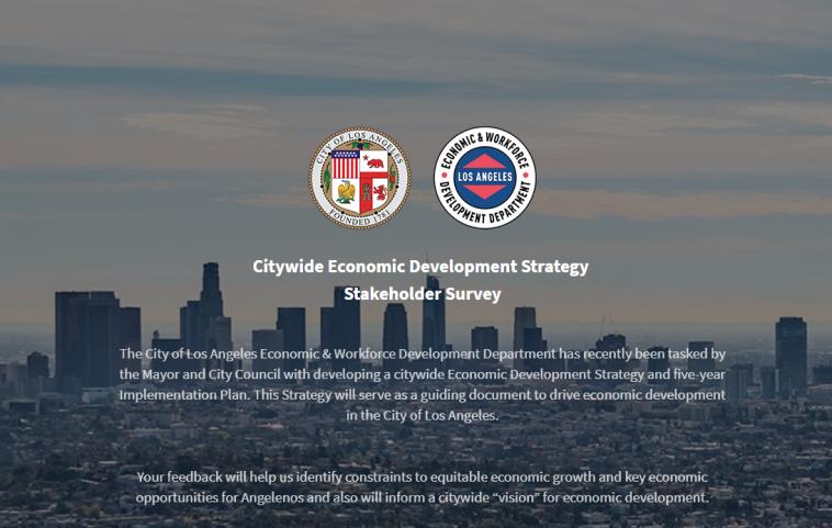 LA Citywide Economic Strategy